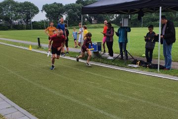 Succesvolle 4x 400 meter estafette